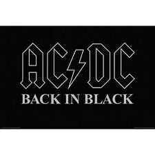 ACDC - Back in Black - Music Poster #H