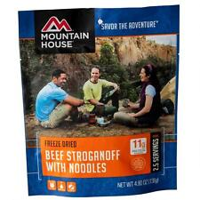 Mountain House Beef Stroganoff 2-Serving Entree Freeze Dried Camping Food
