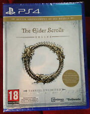 PS4 THE ELDER SCROLLS ONLINE TAMRIEL FR PAL ++ 100% NEUF ++ PS 4 PLAYSTATION 4