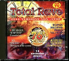 TOTAL RAVE - FULL VERSIONS NON-STOP - 13 EXCLUSIVE MIXES - CD COMPILATION [2160]