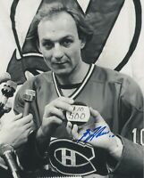 GUY LAFLEUR SIGNED AUTOGRAPH MONTREAL CANADIENS 8X10 PHOTO  PROOF #9