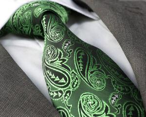 Herren Qualitäts-Krawatte handgefertigt  grün  handmade tie PD-8550