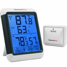 [Free Ship] ThermoPro Tp65A Indoor Outdoor Thermometer Digital Wireless Monitor
