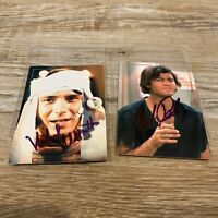 The Monkees Signed Collector Cards Michael Nesmith & Mickey Dolenz Rhino Cards