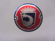 d'ORIGINE LAMBRETTA accessoire ROUE Disque spinner BADGE N. O. S. (One) Ulma /