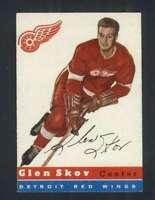 1954-55 Topps #16 Glen Skov EX+ Red Wings 108271