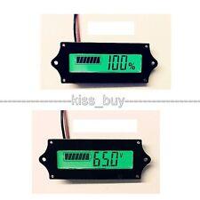 LCD Indicator Battery capacity Tester voltmeter 12V 24v 36 48V Lead-acid Lithium