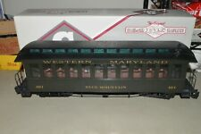 G scale Bachmann Medford Trains Western Maryland Ry old time passenger car COACH