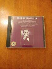 Feodor Chaliapin - The Great Recordings CD 1995 Grammofono Import