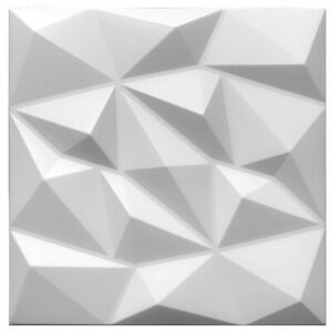 5qm/20 Stück 3D Wandpaneele Deckenpaneele Platten Paneele DIAMANT Polystyrol