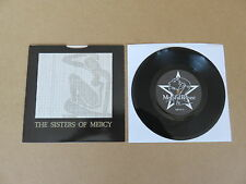 "THE SISTERS OF MERCY Alice MERCIFUL RELEASE 7"" RARE MISPRINTED & REVERSED SLEEVE"