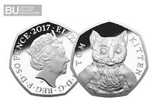 2017 UK Tom Kitten CERTIFIED BU 50p [Ref 840X]