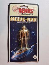 QUESTAR METAL MAN REMUS Die Cast Robot Roboter Space Toy Figure Zee Toys Zylmex