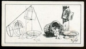 Tobacco Card, B Morris, HOW TO SKETCH, 1929, Still Life Group, #3