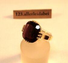 älterer Granat Ring 333 Gold Goldring / AW 592