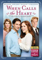 When Calls the Heart: The Television Movie Collection Year Three [New DVD] Wid