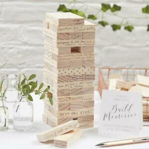 Wooden Blocks Guest Book-Tower Wedding Guest Book-Building Blocks-Alternative