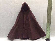 """1/6 Sideshow Star Wars 12"""" figures Luke Skywalker Jedi Knight Brown Hooded Cloak"""
