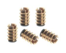 10 pcs New Threaded Brass Insert Nuts M4 for Wood