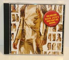Bon Jovi - Fans Cant be wrong - CD - PROMO - 2004