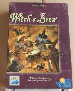 """""""Witch's Brew -  English Edition"""" card game produced by Alea & Rio Grande Games"""
