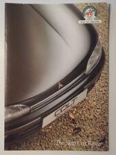 MITSUBISHI COLT HATCHBACK RANGE orig 1992 UK Mkt Sales Brochure - 1800 GTi