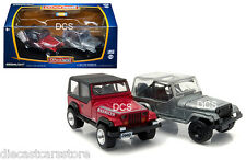 GREENLIGHT FIRST CUT 1987-95 JEEP WRANGLER YJ 1/64 HOBBY EXCLUSIVE SET 29822
