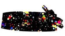Mardi Gras Dots Cummerbund and Bow Tie