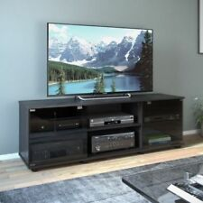 Sonax Fiji Ravenwood Black 60 Inch Entertainment Center Contemporary TV Stand