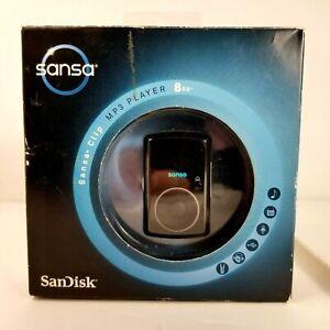 SanDisk Sansa Clip+ Black ( 8 GB ) Digital Media Player Brand New Sealed NOS