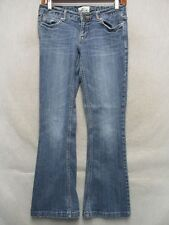 D1058 Aeropostale Flare Stretch Cool Jeans Women 27x27