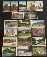 Lot of 19 Original Vintage Postcards - Pennsylvania - Ashland, Philly, Chester+