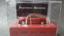 TOYOTA CAMRY Light Keychain Red Pull Back Mini Car JAPAN Not Sold in stores