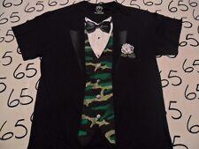 Medium- Army Camp Tuxedo T- Shirt