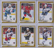 18/19 OPC Boston Bruins David Backes Gold card #327