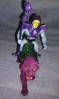 1981 Masters of the Universe Skeletor & Panthor vintage first generation *RARE