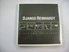 DJANGO REINHARDT - 5 ALBUMS ORIGINAUX - 5CD BOXSET NEW SEALED 2014