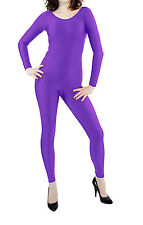 Lycra Spandex zentai unisex Catsuit Dancewear no Hood & Hands feet Unitard