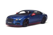 Bentley Continental GT Speed Black Edition 1/18 GT Spirit Asia Edition KJ006