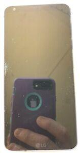 [BROKEN] LG G5 - 32GB Black (Verizon) Smartphone Fast Ship GLASS CRACKS NO POWER