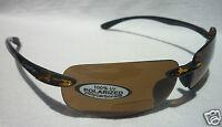 COYOTE BP-5 Bifocal +2.00 POLARIZED Sunglasses Sport Reading Tortoise/Brown NEW
