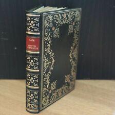 Marquis de Sade - Contes licencieux - Edition Saint-Clair 1974