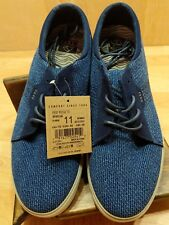 Men's Reef Ridge TX Fashion Casual Shoes Blue Brown Sneaker Size 11 rf003145