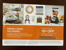 Home Deport Coupon 10% off (MAX $200)
