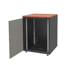 "19"" EDV Serverschrank 18HE 600x800 SCHWARZ  NETZWERKSCHRANK"