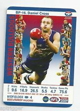 2009 Teamcoach Best & Fairest (BF-16) Daniel CROSS Western Bulldogs