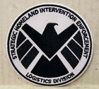 "Avengers/Agents of SHIELD TV Series 3.5"" Black & White Logo Patch (ASPA-001)"