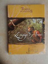 """29181 /TERRES DE LEGENDES LE VOYAGE D'ARUNI DOUBLE DVD 330"""" VOYAGE AU TOUR DE LA"""