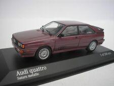 Audi Quatro 1980 Saturne métallique 1/43 Minichamps 430019429 NEUF