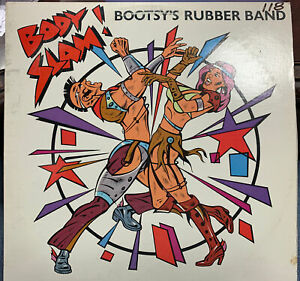 """BOOTSY'S RUBBER BAND BODY SLAM 12"""" 1982 WARNER BROTHERS 29919 DJ PROMO"""